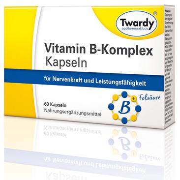 Vitamin B-Komplex Kapseln_60